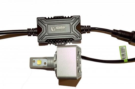 LED автолампа в головной свет 8S STELLAR цоколь D1S/D3S (компл. 2 шт.)