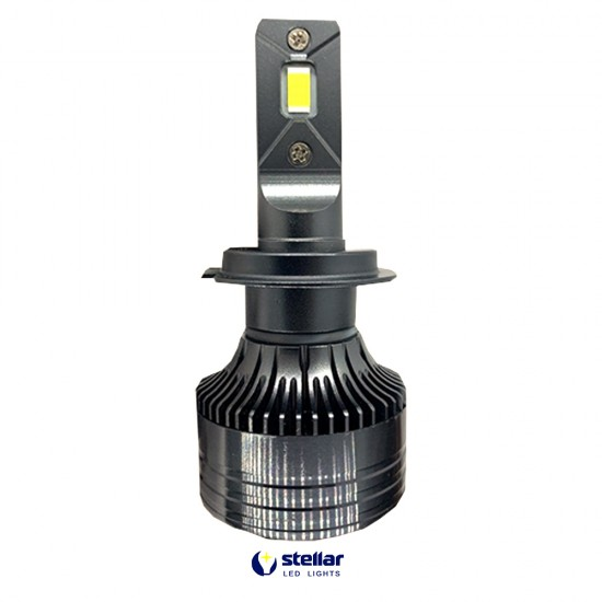 LED автолампы S55 STELLAR H7 светодиодные с обманкой CAN BUS 55W (комплект 2 шт.)