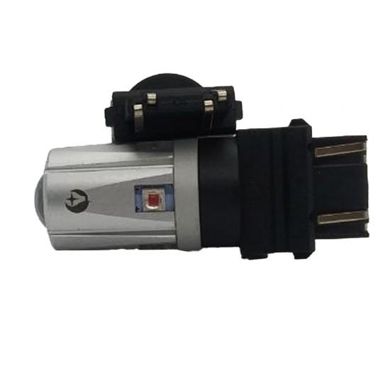 LED автолампа S30 STELLAR цоколь P27/7W/3157 CAN BUS янтарный(сигнал поворота для американских авто) (1 шт.)