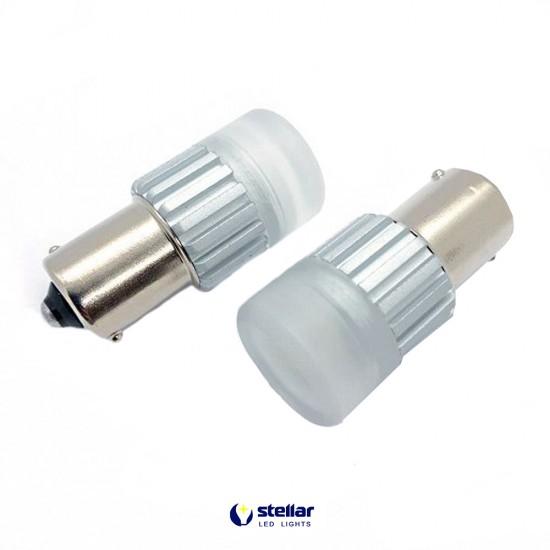 LED автолампа D60 STELLAR цоколь P21W/1156 CAN BUS белый (1 шт.)