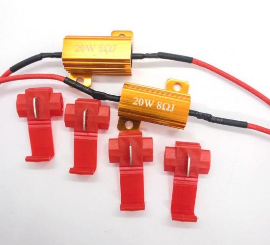 "Нагрузочный резистор STELLAR 20W 6 Ом ""обманка"" CAN BUS (1 шт.)"
