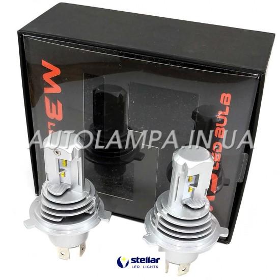 LED автолампа в головной свет M3 STELLAR цоколь H4 (компл. 2 шт.)