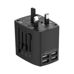Универсальное зарядное устройство Budi 4USB (M8J333) USB 5V/2.4A