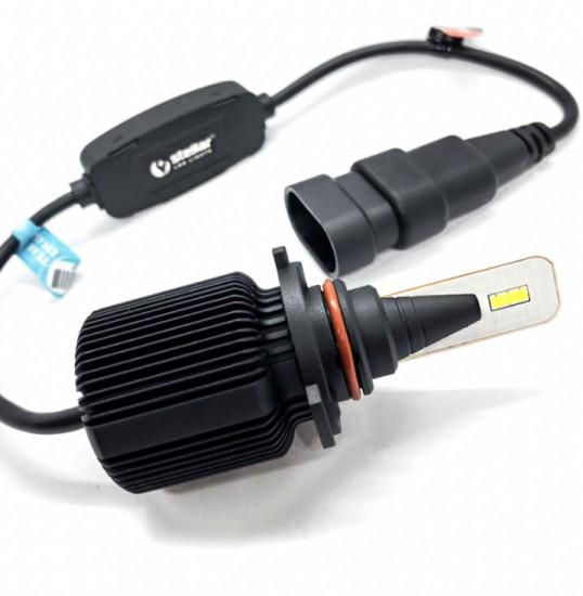 LED автолампа в головной свет F1 STELLAR CAN BUS цоколь HB3 (9005) (компл. 2 шт.)
