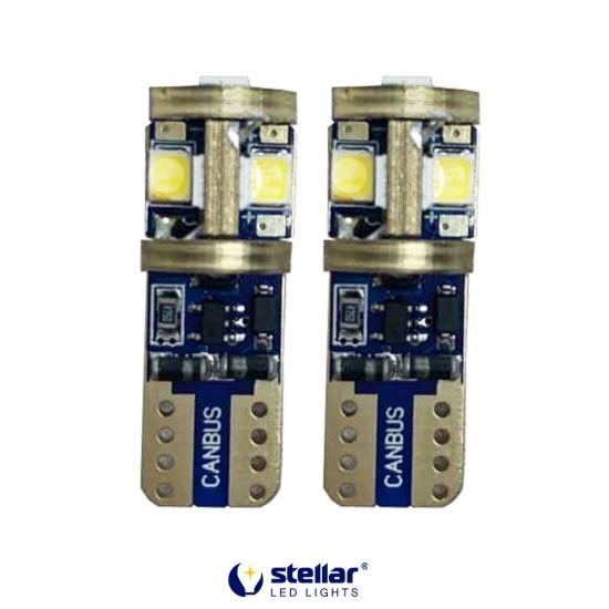 LED автолампа K10 STELLAR цоколь T10/W5W CAN BUS Белый (1 шт.)