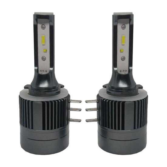 LED автолампа в головной свет S50 PRO STELLAR Can Bus цоколь H15 (компл. 2 шт.)