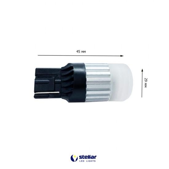 LED автолампа D60 STELLAR цоколь W21W/7440 CAN BUS красный (1 шт.)