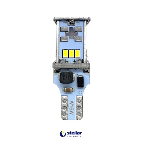 LED автолампа 5K18 STELLAR цоколь T15/W16W CAN BUS белый (1 шт.)