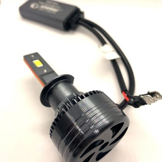 LED автолампы S55 STELLAR H1 светодиодные с обманкой CAN BUS 55W (комплект 2 шт.)