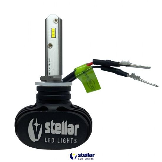LED автолампа в головной свет S2 STELLAR цоколь H27 (компл. 2 шт.)