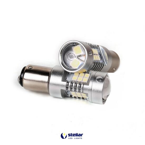 LED автолампа 4G21 STELLAR цоколь P21/5W/1157 красный (1 шт.)