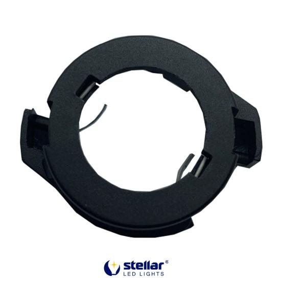 LED переходник STELLAR R-L112 цоколь H7 адаптер для автоламп (1 шт.)