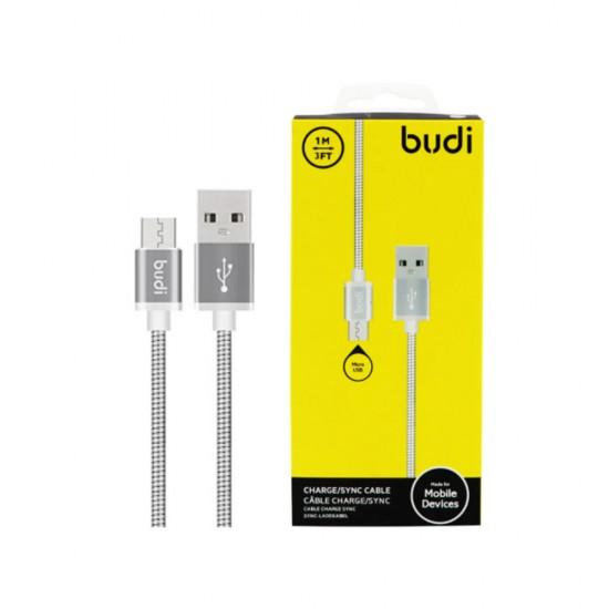 USB кабель BUDI Apple lightning (M8J172)