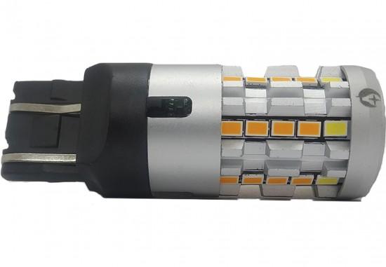 LED автолампа 5G34 STELLAR цоколь P21W/5W/7443 двухцветный (1 шт.)