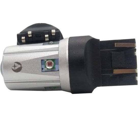 LED автолампа S30 STELLAR цоколь W21W/5W/7443 CAN BUS красный (1 шт.)