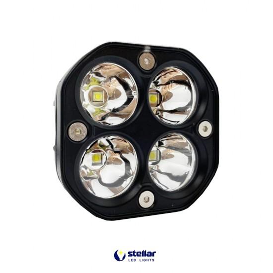 Универсальная противотуманная LED фара 40S (1 шт.)