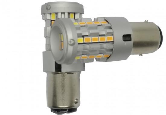 LED автолампа 5G34 STELLAR цоколь P21/5W/1157 двухцветный (1 шт.)
