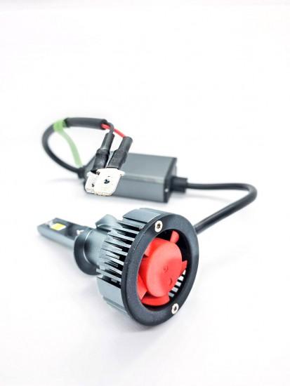 LED автолампа в головной свет K9 STELLAR цоколь H1 (компл. 2 шт.)