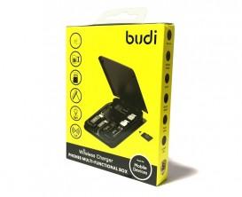 Набор кабель Budi - Type C, Lighting, Micro USB