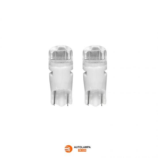 LED автолампа С3 ceramic цоколь T10/W5W Белый (1 шт.)