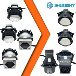 Led универсальные автомобильные линзы X-BRIGHT