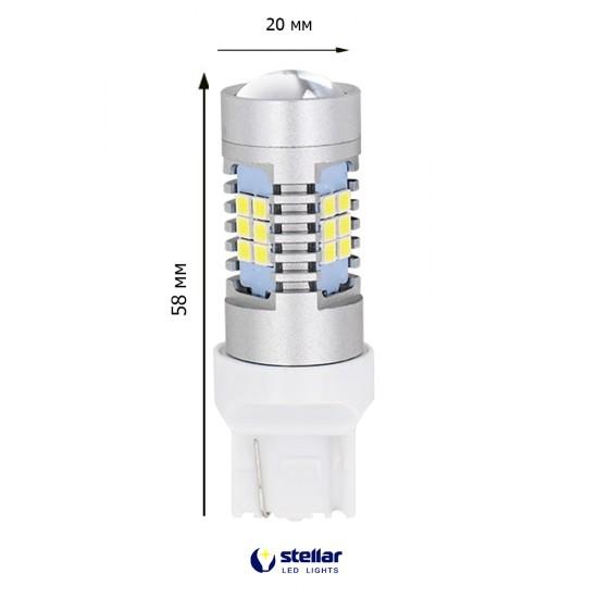 LED автолампа 4G21 STELLAR цоколь T20/W21/7440 белый (1 шт.)