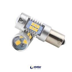 LED автолампа 4G21 STELLAR цоколь BA15S/1156 белый (1 шт.)