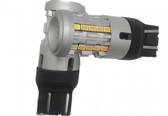 LED автолампа 5G34 STELLAR цоколь P27W/7W/3157 двухцветный (1 шт.)
