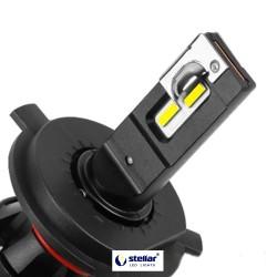 LED автолампа в головной свет T9 STELLAR цоколь H4 (компл. 2 шт.)