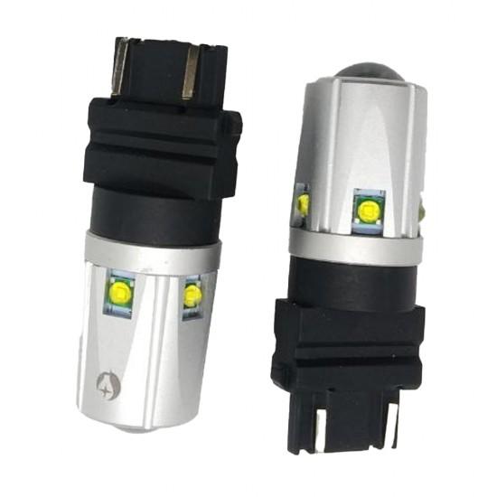 LED автолампа S30 STELLAR цоколь P27/7W/3157 CAN BUS белый (1 шт.)