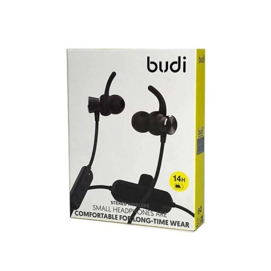 Беспроводные наушники Budi Bluetooth/14 часов работы (M8J09)
