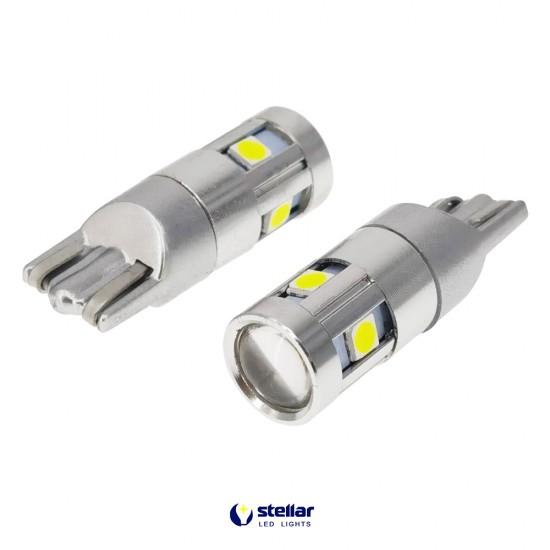 LED автолампа K7 STELLAR цоколь T10/W5W CAN BUS белый (1 шт.)