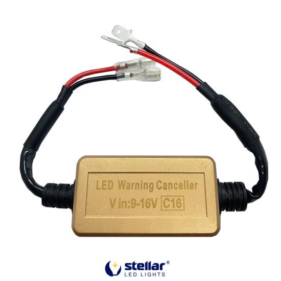 "LED ""обманки"" STELLAR C16 цоколь H1/H3 CAN BUS (1 шт.)"