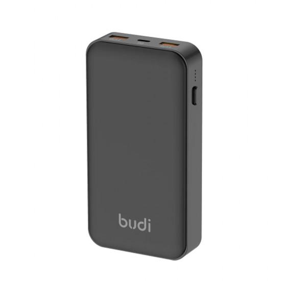 Budi Power Bank PD 20000 mAh/18W + 2 USB с технологией Quick Charge 3.0 (M8J083)