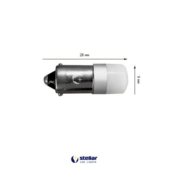LED автолампа K8 STELLAR цоколь T4W/BA9S SUPER CAN BUS Белый (1 шт.)