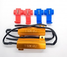 "Нагрузочный резистор STELLAR 50W 6 Ом ""обманка"" CAN BUS (1 шт.)"