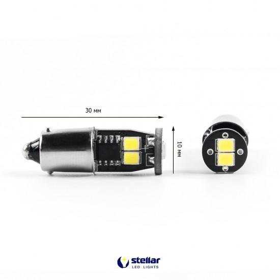 LED автолампа 3G6 STELLAR цоколь T4W/BA9S CAN BUS белый (1 шт.)
