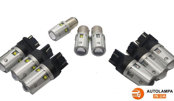 Новая серия LED ламп в габариты/стопы/повороты