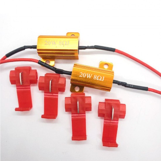 "Нагрузочный резистор STELLAR 20W 8 Ом ""обманка"" CAN BUS (1 шт.)"