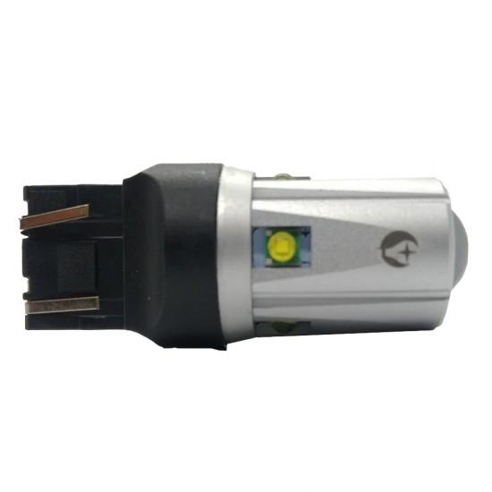 LED автолампа S30 STELLAR цоколь W21W/5W/7443 CAN BUS белый (1 шт.)