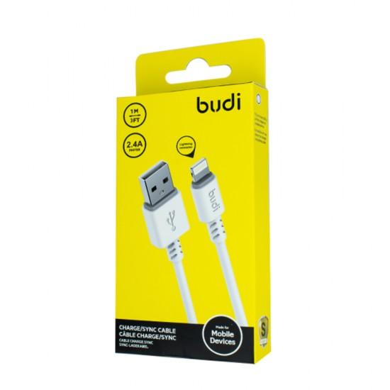 USB-кабель Budi Lightning to USB Charge/Sync cable 1м (M8J011L)