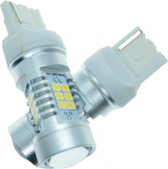 LED автолампа 4G21 STELLAR цоколь W21/5W/7443 белый (1 шт.)