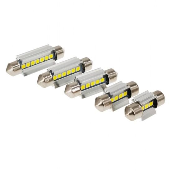 LED автолампы K7 STELLAR SV8,5 31 мм с обманкой в подсветку номера и салона CAN BUS (1 шт.)