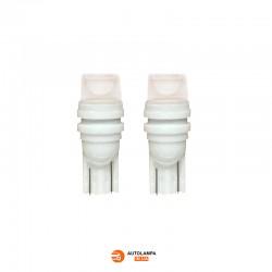 LED автолампа С2 ceramic цоколь T10/W5W Белый (1 шт.)