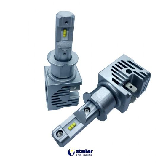 LED автолампа в головной свет M3 STELLAR цоколь H3 (компл. 2 шт.)