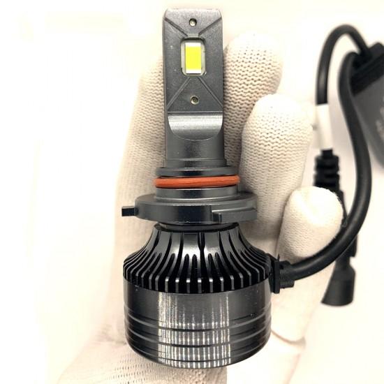 LED автолампы S55 STELLAR HB3 (9005) светодиодные с обманкой CAN BUS 55W (комплект 2 шт.)