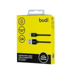 Кабель Budi 3в1 USB-MicroUSB кабель 1m (M8J180M)
