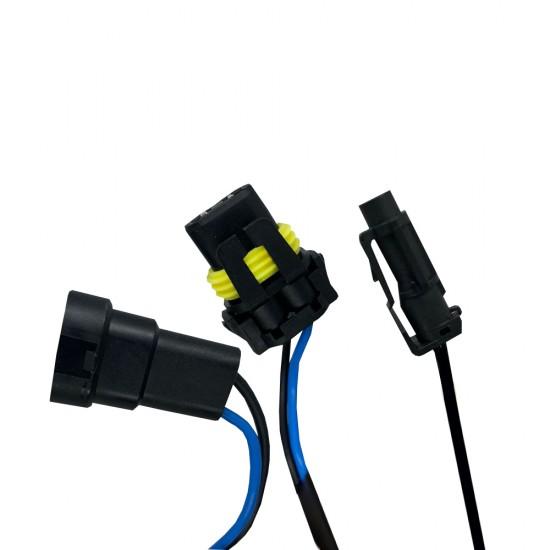 Би-ксенон лампа цоколь HB3 (9005) KYOTO 6000K 55W (1 шт.)