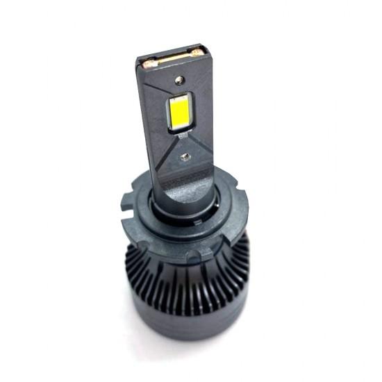 LED автолампы S55 STELLAR D1S/D2S/D3S/D4S светодиодные с обманкой CAN BUS 55W (комплект 2 шт.)