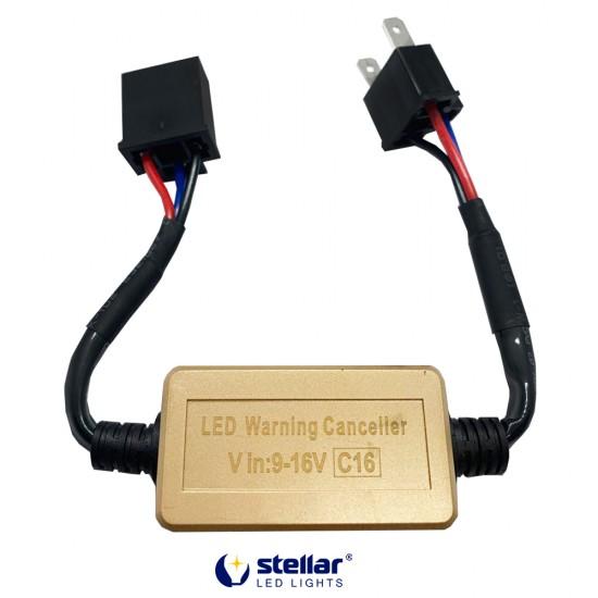 "LED ""обманки"" STELLAR C16 цоколь H4 CAN BUS (1 шт.)"